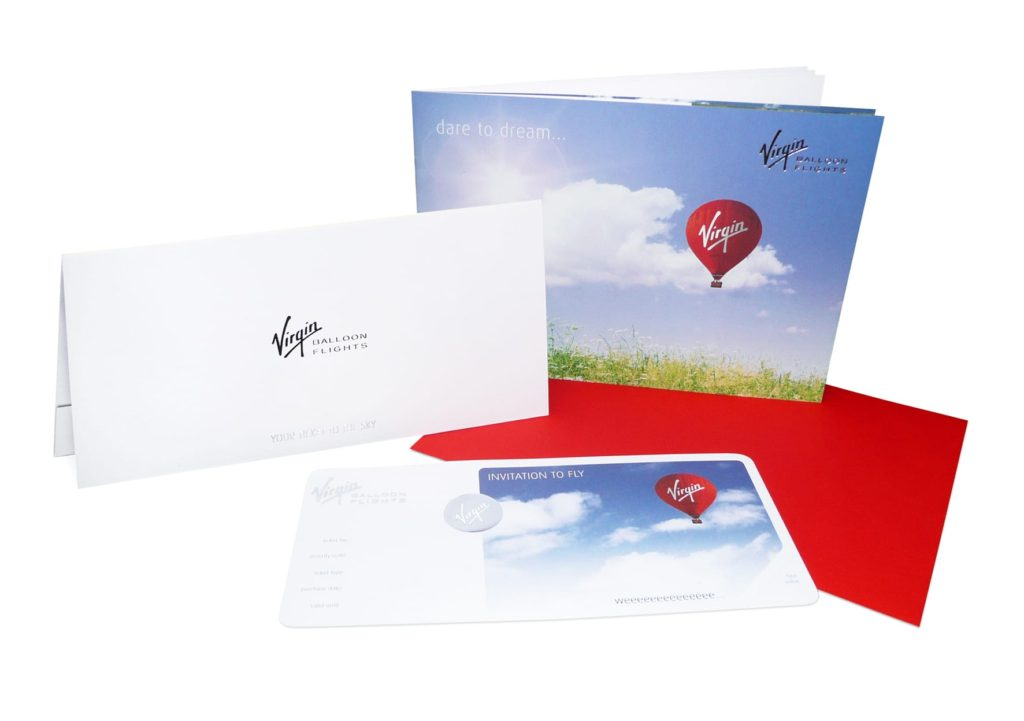 Virgin Ballon Flights Voucher