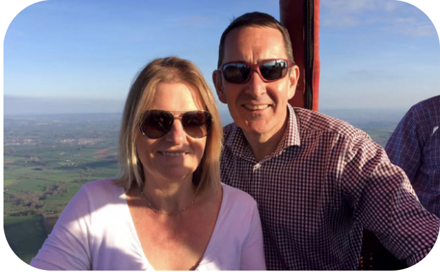 Hot Air Balloon Ride for Two Hanging Houghton