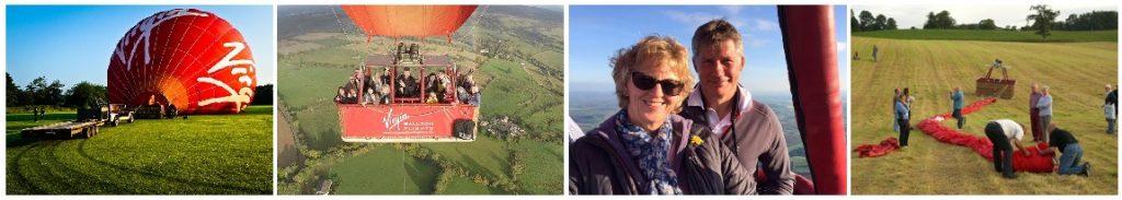 Hot Air Balloon Bridgend of Lintrathen Angus